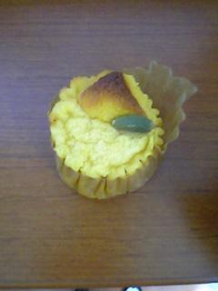 お菓子☆チーズとカボチャのクラフティ