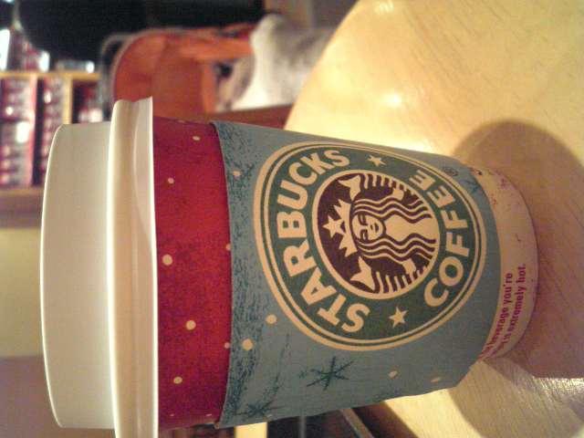 スタバのカフェインレスコーヒー