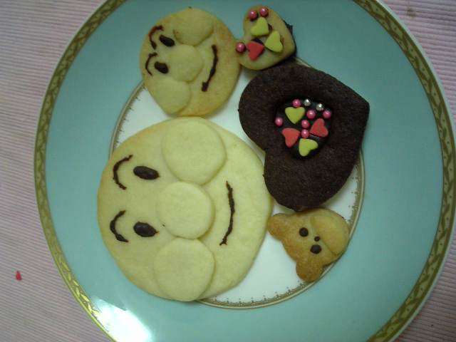 アンパンマンのチョコサンドクッキー