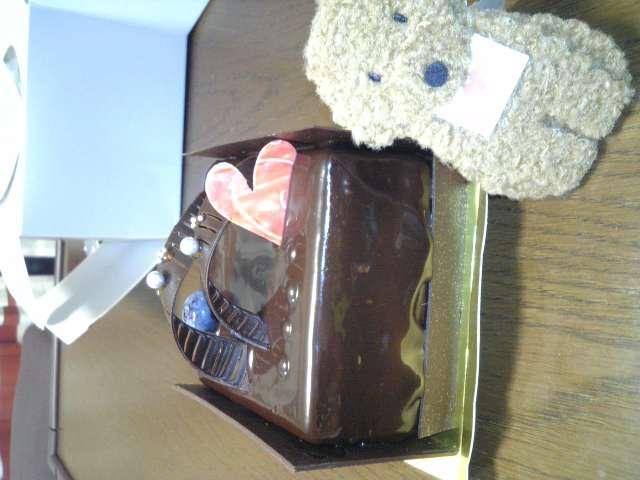 パティスリーgenkiのバレンタイン限定ケーキ