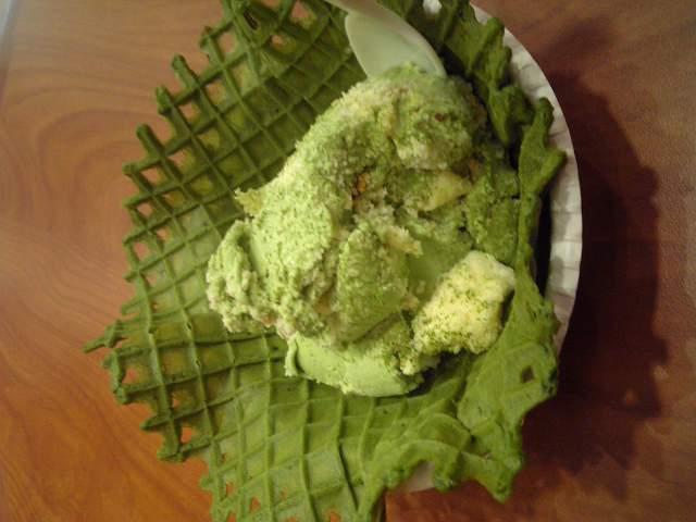 仙台☆お茶 COLDSTONE アイス