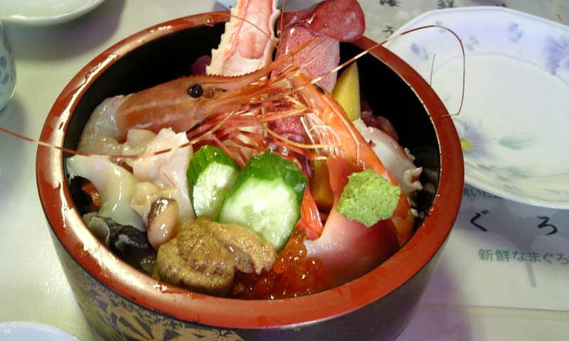 仙台でランチ☆伸光の海鮮丼