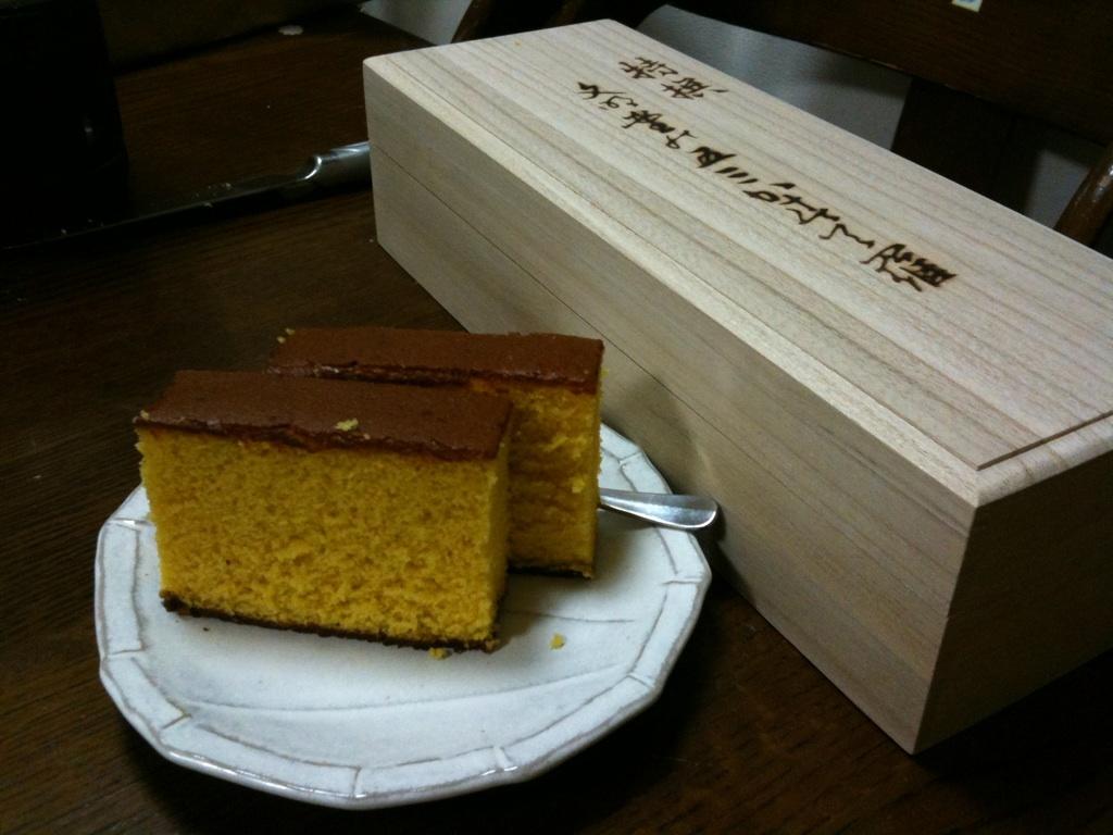 お菓子☆特選五三カステラ