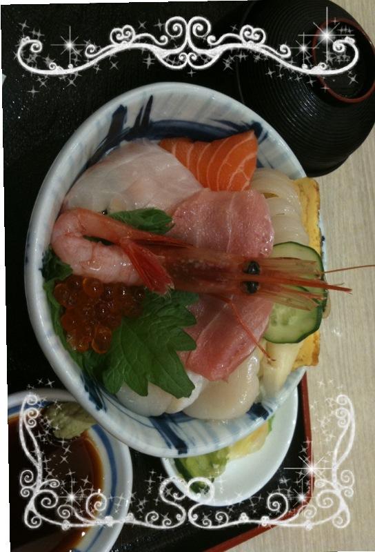 三陸海鮮丼 どん辰